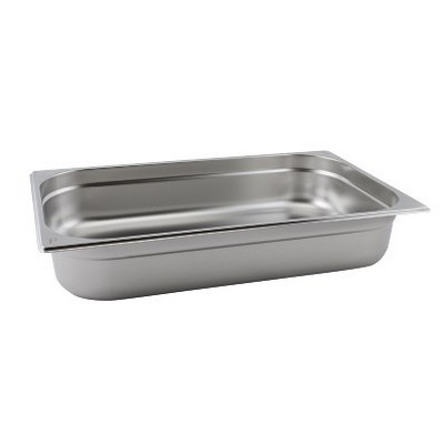 Full Size Stainless Steel Gastronorm Container D100Mm Each