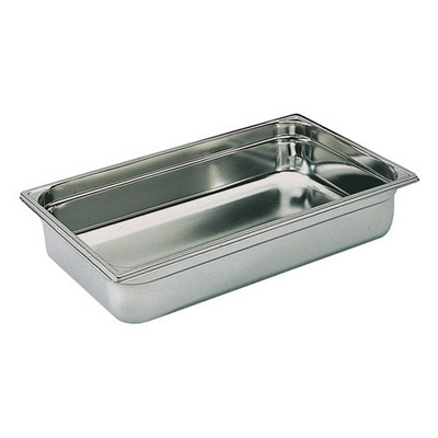 Full Size Stainless Steel Gastronorm Container D150Mm Each