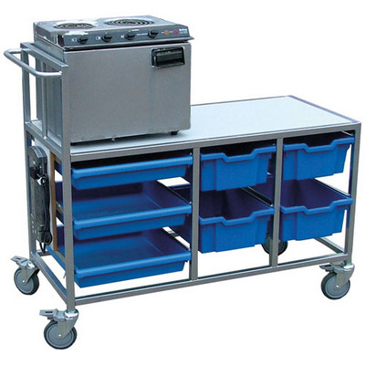 Compact Cooker Trolley 550X1150X520Mm Each