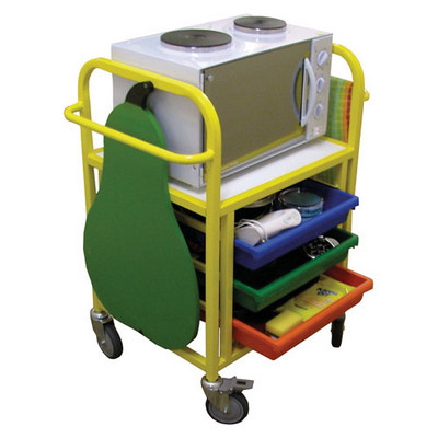Compact Cooker Trolley 550X600X520Mm Each