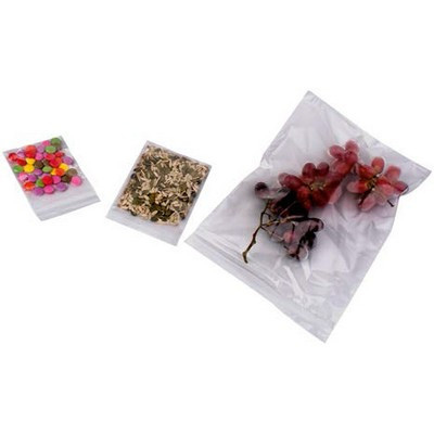 Clear Polythene Bags 100 X 140Mm Pack 1000