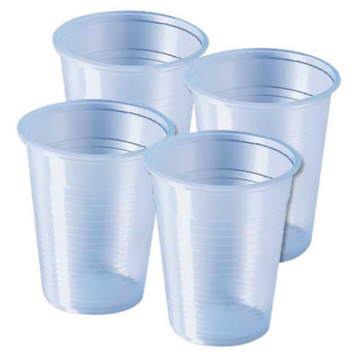 Clear Plastic Cups Pack 2000 210Ml