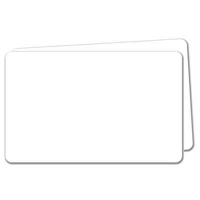 Blank Security Cards Thin 0.50Mm Pack 100