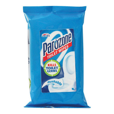 Parozone Toilet Wipes White Each