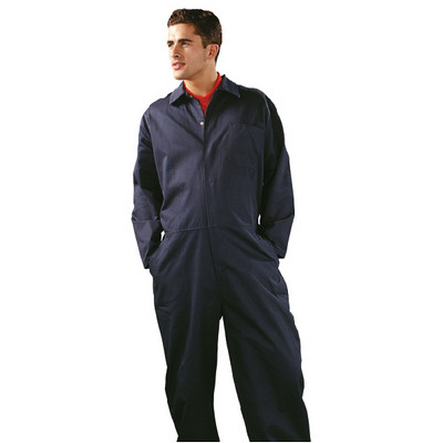 Coverall 34-36 Navy Blue Each