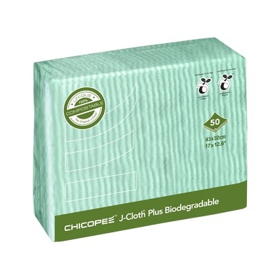 Chicopee J-Cloth Plus Biodegradable Blue