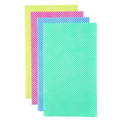 Disposable Wiping Cloth Lightweight Blue Pack 50