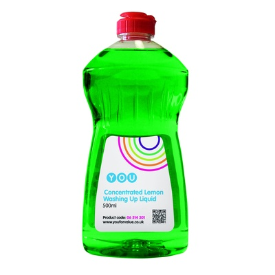 YOU, Lemon Washing Up Liquid, 500ml