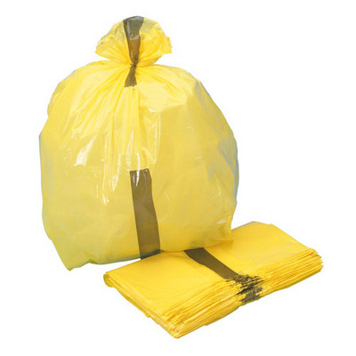 Clinical Waste Bag Cat E Yellow 70L Pack 200