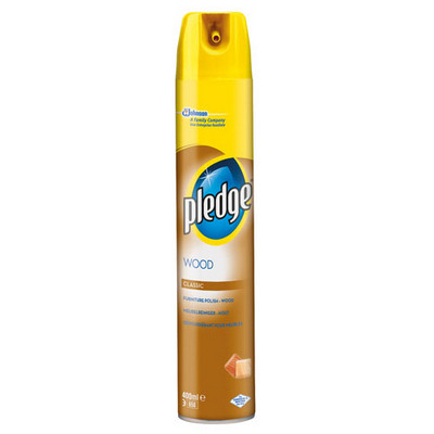 Pledge, Furniture Polish, 400ml, Ea