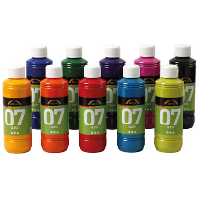A-Color Glass Assorted Pack 10
