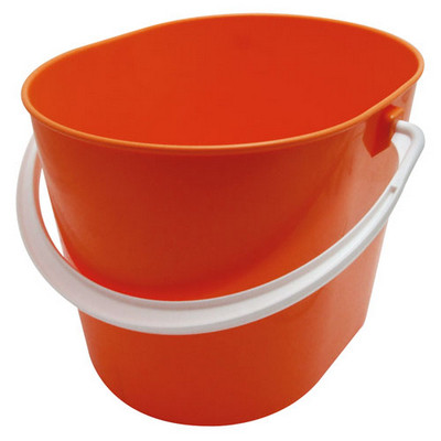 Bucket 15L Plastic Red plus Strainer Each