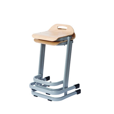 35 Series Stool H640Mm Maple Top And Duraform Light Speckled Frame