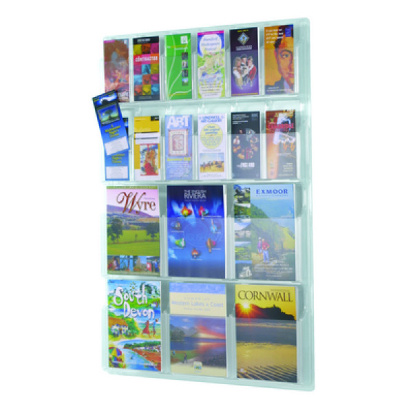All Clear Leaflet Display 6 X 1/3 A4 + 6 X A4