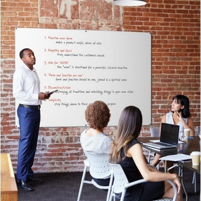 Colour Edged Whiteboards 1200X1200Mm