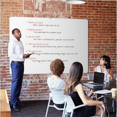 Colour Edged Whiteboards 1200X1500Mm