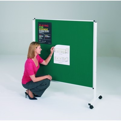 Budget Mobile Noticeboard 900X1200Mm