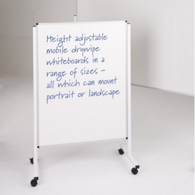 Budget Mobile Noticeboard 1200 X 1500Mm