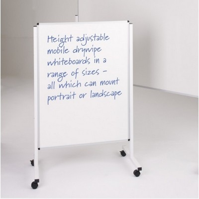 Budget Mobile Noticeboard 1200X1800Mm