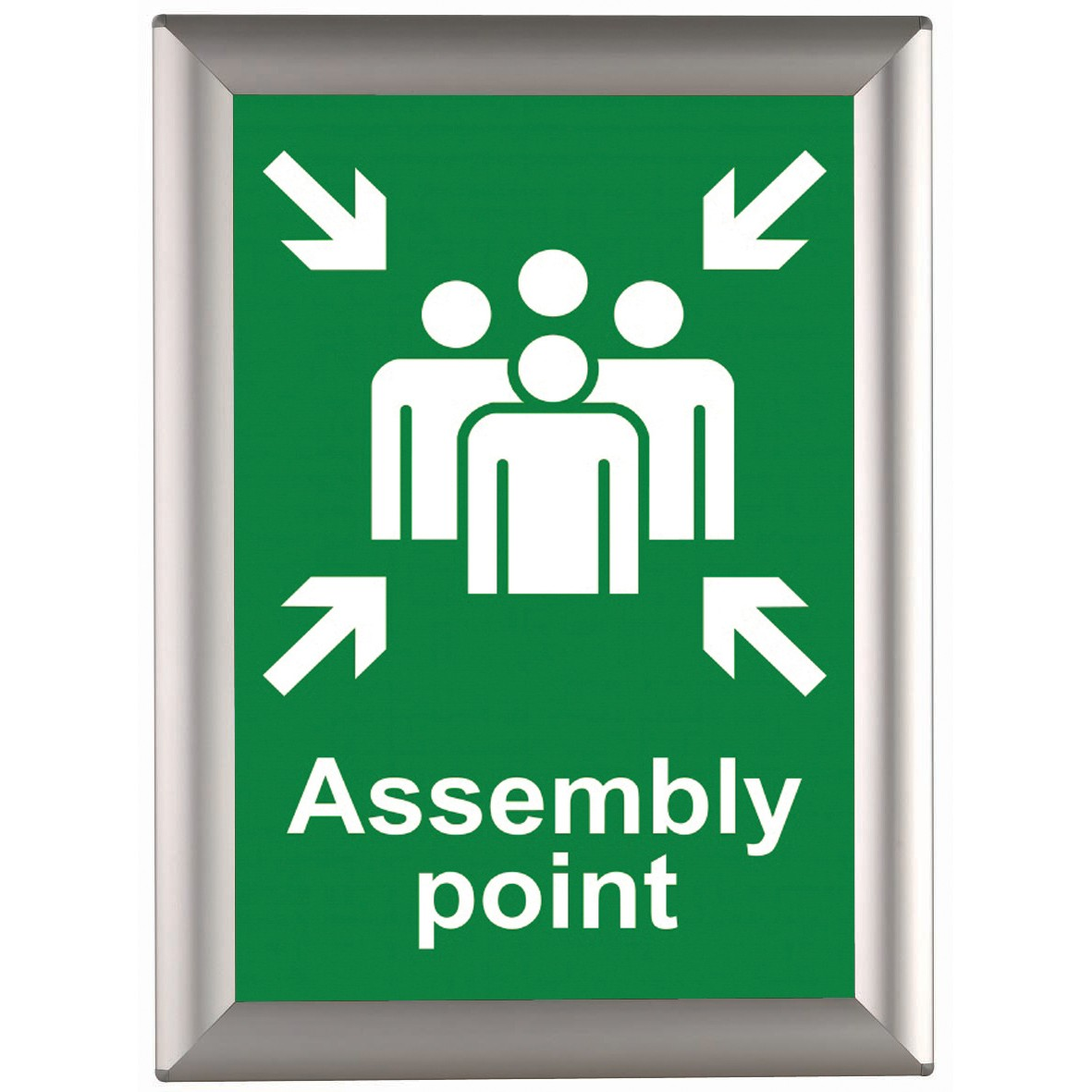 Busygrip Aluminium Poster Frame A4 - H297 X W210Mm Pack 5
