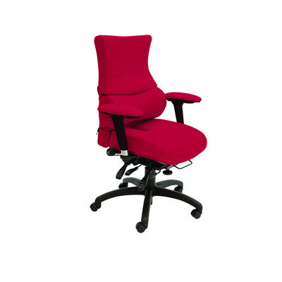 Chronic Back Care Chair With Coccyx Cut-Out Seat Without Headrest