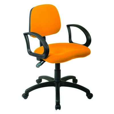 Every Day Medium Back Operator Chair Twin Lever With Ring Arms