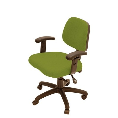 Every Day Medium Back Operator Chair Twin Lever With Height Adjustable Arms