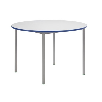 Circular Fully Welded Whiteboard Table 1100Mm