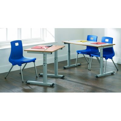 Single Height Adjustable Table - Various Options Available