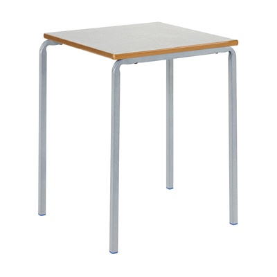 Crush Bent Stacking Table Square Mdf Edge W600 X D600Mm