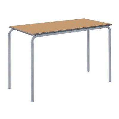 Crush Bent Stacking Table Duraform Edge & Frame W1100 X D550Mm