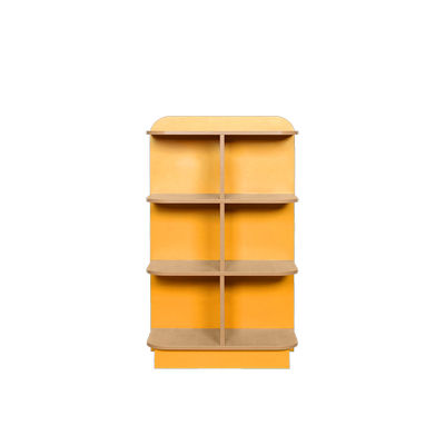 Kubbyclass Library D End Bookcase H1000Mm