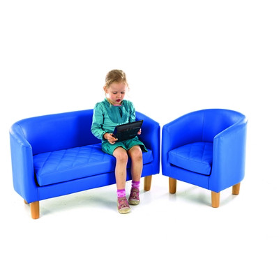 Churchfield Quilted Tub Sofa - Various Colours Available