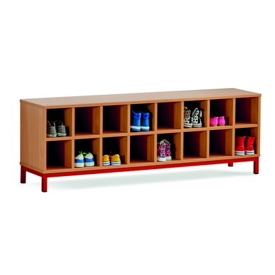 16 Open Compartment Bench