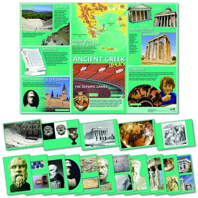 Ancient Greek Ideas Poster And Photopack