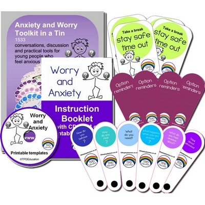 Anxiety And Worry Kit In A Tin