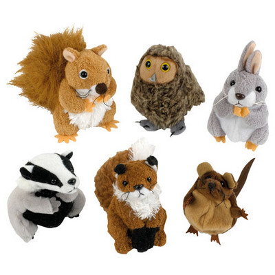 Woodland Finger Puppet Set