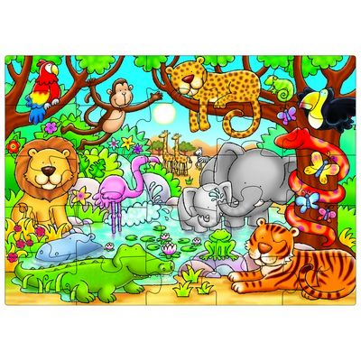 Who's In The Jungle Jigsaw, Each