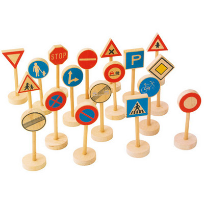 Wooden Traffic Signs
