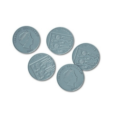Play Money, 10p Coins Pack 100