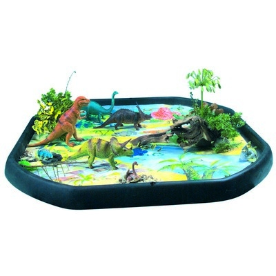 Outdoor Tuff Tray Dinosau Land Mat, Each