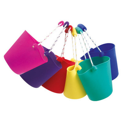 Scrunch Bucket, Assorted Colours, Ea