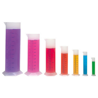 Graduated Cylinders Clear Set 7