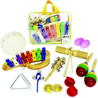 Childrens 10 Piece Percussion Pack