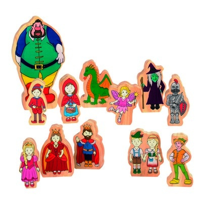 Fairytale Wooden Characters