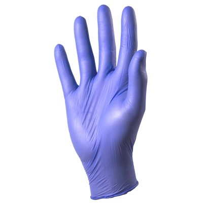 Nitrile Gloves Accelerator Free Large, Pack 200