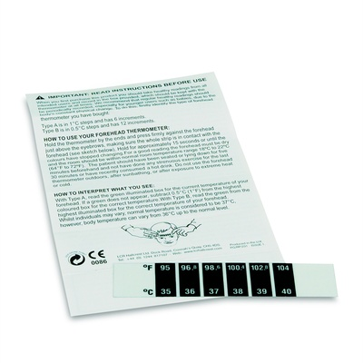 Forehead Thermometer Pack 10