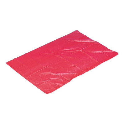 Water Soluble Laundry Sacks Pack 50 Red