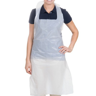 Disposable Apron White Pack 100