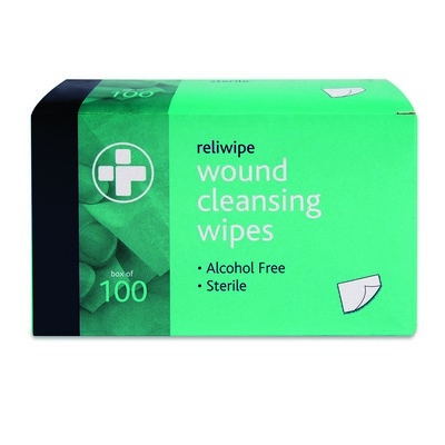 Alcohol Free Cleansing Wipes Box 100